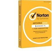 Norton AntiVirus Basic for Windows (1 User) $0.01 AR at  staples.com online deal