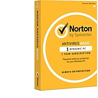 Norton AntiVirus Basic 1-Device 1-Year Subscription for Windows