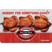 Boston Market Gift Card $25 (Email Delivery)