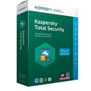 Kaspersky Total Security 2017 for Windows/Mac (1 Year) (1-5 Users) [Boxed]