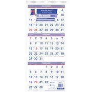 "AT-A-GLANCE® 3 Month Reference Vertical Wall Calendar, 2017, 12 1/4"" x 27"" (PM11 28 17)"
