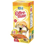 Nestlé® Coffee-mate® Coffee Creamer, Hazelnut, .375oz liquid creamer singles, 50 count
