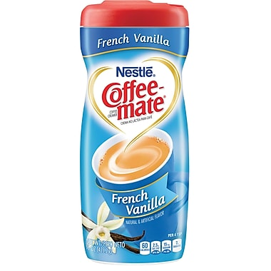 Nestlé® Coffee-mate® Coffee Creamer, French Vanilla, 15oz Powder Creamer, 1 Canister