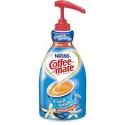 Nestlé® Coffee-mate® Liquid Coffee Creamer Pump Bottle, French Vanilla, 1.5 Liter