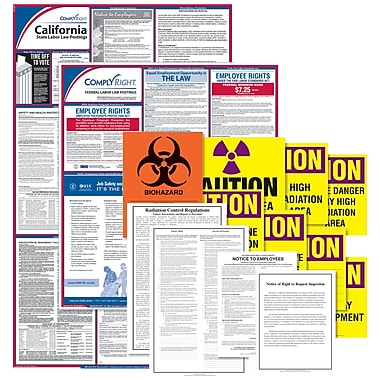 ComplyRight™ Healthcare Public Health Poster Kit, CA - California