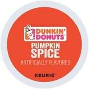 Dunkin' Donuts Pumpkin Spice Coffee K-Cup Pods 16 Count