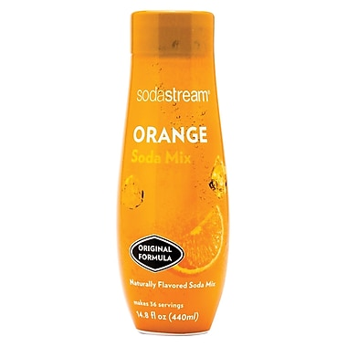 Sodastream Orange Sparkling Drink Mix, 440ml