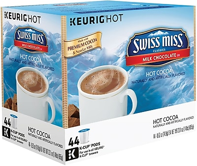 Swiss Miss Milk Chocolate Hot Cocoa K-Cup Pods 44 Count (2259481) 2259481