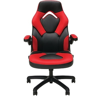 Essentials by OFM Racing Style Leather Gaming Chair