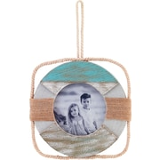 4x4 Sandy Beach Life Ring Picture Frame