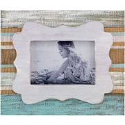 3.5x5 Ivory Sandy Beach Picture Frame