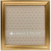 8x8 Sutter Burnished Gold Picture Frame