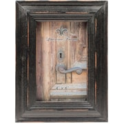 4x6 Weathered Black Wood Picture Frame