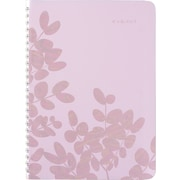 """2017-2018 AT-A-GLANCE® 5 1/2"""" x 8 1/2"""" Aura Blooms Academic Weekly/Monthly Planner, 13 Months, Lavender (585-200A-18)"""