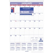"AT A GLANCE® Monthly Wall Calendar, 2017, 20"" x 30"" (PM4 28 17)"
