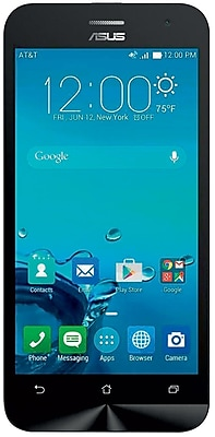 ASUS ZenFone 2E AT&T Unlocked 4G LTE Dual-Core Phone w/ 8 MP Camera - White