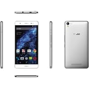 BLU Studio Energy X Plus Unlocked GSM 4G LTE Quad-Core Android Phone w/ 8MP Camera + 4000 mAh - Silver
