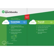 Quickbooks Essentials w/ Payroll 2017 for Windows (1 User) [Download]