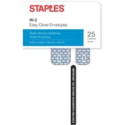 Staples 2016 Tax Forms, W-2 Tax Envelopes, 25-Pack