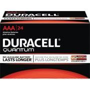 Duracell Battery Quantum Alkaline AAA, 24/Pack