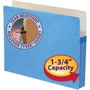 """Smead® File Pocket, Straight-Cut Tab, 1-3/4"""" Expansion, Letter Size, Each"""