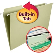 Smead® FasTab® Hanging File Folder, 1/3-Cut Built-In Tab, Legal Size, 20/Box