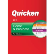 Quicken Home & Business 2017 for Windows (1 User) [Download]