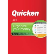 Quicken Starter Edition 2017 for Windows (1 User) [Download]