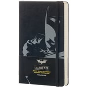 "2017 Moleskine® Daily Planner, 12 Month,   5"" x 8.25"", Batman Hard Cover, Large (892901)"