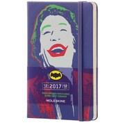 "2017 Moleskine® Weekly Planner, 12 Month, 3.5"" x 5.5"", Batman Hard Cover, Pocket (82918)"