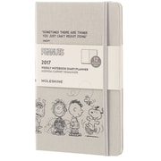 "2017 Moleskine® Weekly Planner, 12 Month,  5"" x 8.25"", Peanuts Hard Cover, Large (892987)"