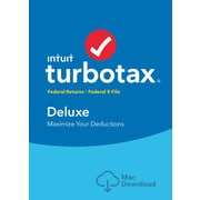 TurboTax Deluxe 2016 for Mac (1 User) [Download]