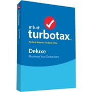 TurboTax Deluxe 2016 for Windows/Mac (1 User) [Boxed]