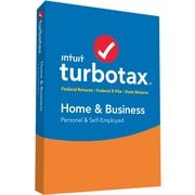 TurboTax Home & Business 2016 for Windows/Mac (1 User) [Boxed]