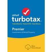 TurboTax Premier 2016 for Mac (1 User) [Download]