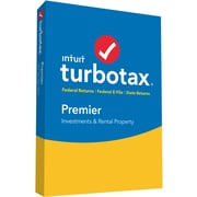 TurboTax Premier 2016 for Windows/Mac (1 User) [Boxed]
