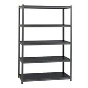 Hirsh 3200lb Rivet Shelving, 5 shelf, 24x48x72