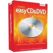 Roxio Easy CD & DVD Burning for Windows (1 User) [Boxed]