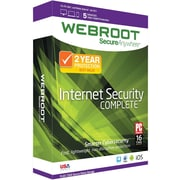Webroot Internet Security Complete 5 Device 2 Year for Windows/Mac (1-5 Users) [Download]
