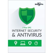 Bling Defender Pro Internet Security & Antivirus 1YR 3PCS for Windows (1-3 Users) [Download]