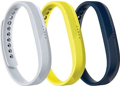 Fitbit Flex 2, Accessory 3-Pack, Sport, Small