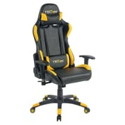 Techni Sport Office-PC Gaming Chair. Color: Yellow