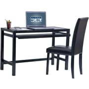 Techni Mobili Matching Desk with Keyboard Panel and Chair Set. Color: Wenge (RTA-3605ST-WN)