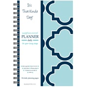 "Kahootie Co™ It's That Kinda Day™ - Daily Planner, 6"" x 9"", Teal (ITKDT)"