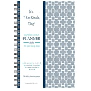 "Kahootie Co™ It's That Kinda Day™ - Daily Planner, 6"" x 9"", Gray (ITKDG)"