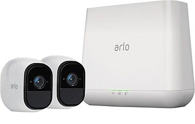 NETGEAR Arlo Pro Wire Free HD Security Camera Kit 2 Pack