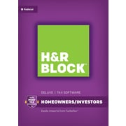 H&R Block 16 Deluxe for Windows (1 User) [Download]