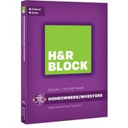 H&R Block 16 Deluxe + State for Windows/Mac