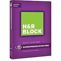 H&R Tax Software Deluxe + State 2016 + $20 GC