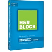 H&R Block 16 Premium for Windows/Mac (1 User) [Boxed]